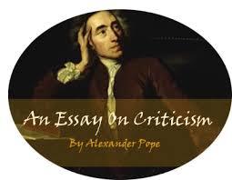 pope essay on criticism analysis  liaoipnodnsru british literature wiki an essay on criticism