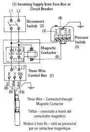2wire well pump wiring diagram 2wire wiring diagrams 3wire connections magnetic contractor wire well pump wiring diagram