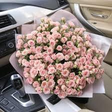 <b>Букет</b> из 31 кустовой розы 60 см заказать доставку в Ростове-на ...