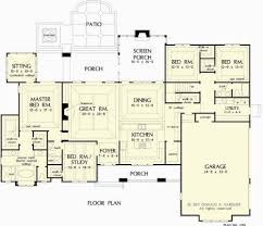 Home Design Collections   The Chesnee House Plans First Floor    The Chesnee House Plans First Floor Plan   House Plans by Designs Direct