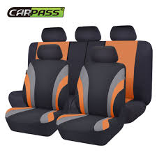 <b>Car pass</b> New Colorful Sports Series Car Seat Covers Universal Car ...