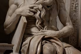 moses michelangelo michelangelo s moses detail