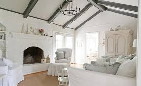 white shabby chic living room amazing white shabby chic