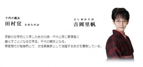 「吉岡里帆 あさが」の画像検索結果