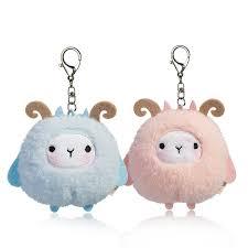<b>10cm Cute</b> Sheep <b>Plush Toys</b> Kawaii Bag Backpack Pendant ...