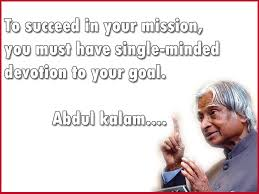 Famous Quotes Of Dr. APJ Abdul Kalam That Inspired The Youth Of ...