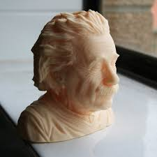 Download free <b>3D</b> printer templates Albert <b>Einstein</b> bust ・ Cults