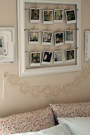 bedroom vintage ideas diy kitchen: polaroid pictures inside a wooden frame cute diy idea for the home
