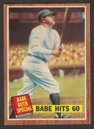 「1927 babe ruth baseball card value」の画像検索結果