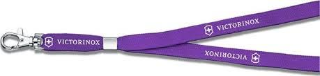 """<b>Шнурок на шею</b> """"Victorinox"""", с карабином, цвет: фиолетовый ..."""