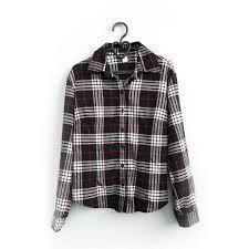 <b>Рубашка женская в клетку</b> черно-белая – секонд хенд «ЗигЗаг ...