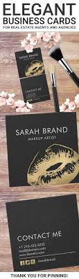 17 best images about business cards computer faux gold lips makeup artist beauty salon square business card