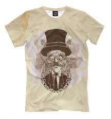 T shirt <b>Vintage hand painted steampunk</b> man (Art core)|T-Shirts ...
