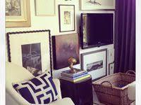 Violets Room Decorated: лучшие изображения (20) | Интерьер ...