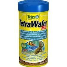 <b>Tetra WaferMix корм</b> в виде чипсов для всех донных рыб - 250 мл