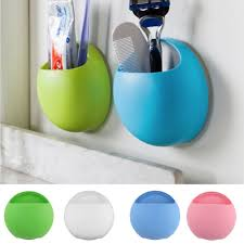 accessories acrylic toothbrush holderplastic new toothbrush holder bathroom kitchen family toothbrush suction cups