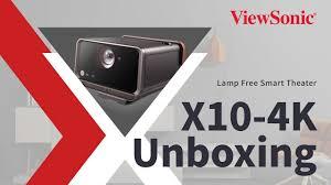 <b>ViewSonic X10</b>-<b>4K</b> Unboxing Video - YouTube