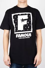 Футболка FAMOUS F <b>Flat</b> Squared (Black-White, XL) | www.gt-a.ru
