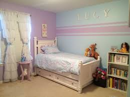 girls room decor ideas painting: jewels room accent wall stripes for little girl room kristin duvet set pottery barn kids blue paint soar from sherwin williams blue and purple girl