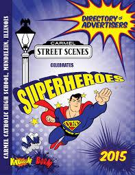 2015 street scenes ad book by carmel catholic high school issuu