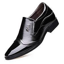 <b>Men Dress</b> Shoes Oxford <b>Work</b> Invisible Height <b>Increase</b> Office ...