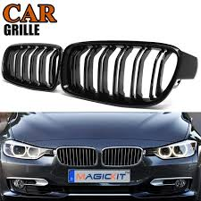 MagicKit <b>A Pair Front Kidney</b> Grille For BMW New 3 Series F30 F35 ...