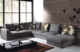 simple brown oversized chairs living room