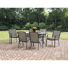 crossman piece outdoor bistro: elegant and interesting  piece patio set with regard to house