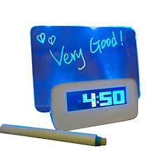 Buy Monique <b>Creative Led Digital Alarm</b> Clock Fluorescent ...