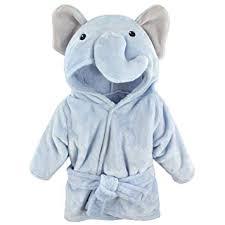 Hudson Baby Unisex Baby Plush Animal Face Robe ... - Amazon.com