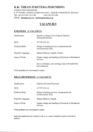 resume cad s resume sample for mechanical site engineer resume format for