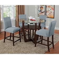 Fabric Chairs For Dining Room Beige Fabric Upholstered Modern Dining Room Chairs Round Back