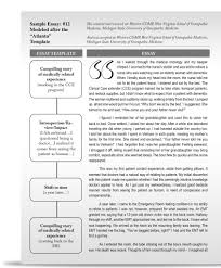 Writing Scholarship Essay Examples