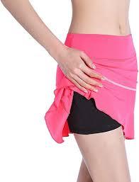 <b>EAST HONG Women's</b> Running Skirt Exercise Golf <b>Tennis</b> Skorts ...