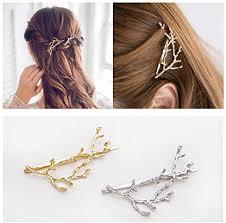 QTMY 2 PCS Metal Branches Hairpin Hair Clips Hair ... - Amazon.com