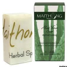 <b>Органическое мыло</b> MAITHONG с <b>экстрактом</b> алоэ вера, 100 гр ...