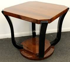antique art deco style dark occasional coffee table some imperfections and light white marks on the top as you can see from pictures will suit any home art deco style furniture occasional coffee