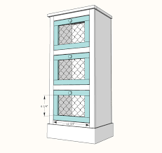 cabinets drawer vegetable bin front cut   quot base moulding to fit mitering front corners nail on with na