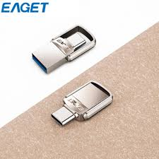 <b>EAGET CU20 Type-C</b> 3.1 Port + USB3.0 SB Memory Stick Mini Dual ...