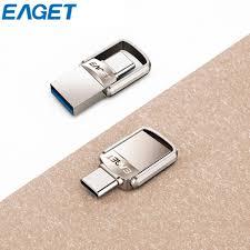 <b>EAGET CU20 Type-C</b> 3.1 Port + USB3.0 SB Memory Stick Mini Dual ...