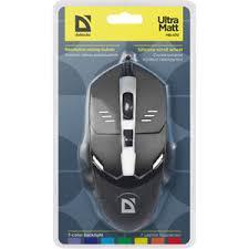 """<b>Мышь Defender Ultra Matt</b> """"MB-470"""" 52470 Black USB"""
