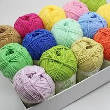 <b>Sale 50g</b> balls Knitting Crochet cashmere <b>super Soft</b> baby cotton ...
