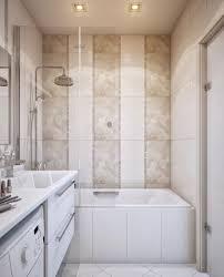 rectangular bathroom design