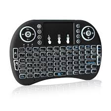 <b>i8 Backlit Mini Wireless</b> Keyboard With Touchpad Infrared Remote ...