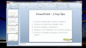 top tips ms powerpoint presentation skills and tips 5 top tips ms powerpoint presentation skills and tips