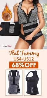 body shaper vest sweat slimming sauna shirts women waist trainer cincher corsets neoprene shapewear tummy fat burner weight loss