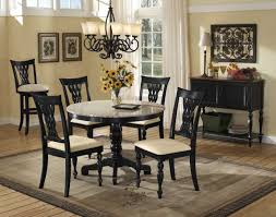 Granite Dining Room Tables Round Granite Top Dining Table Set Home Decor
