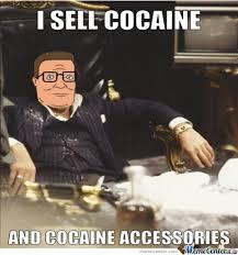 Hank Montana Sells Cocaine And Cocaine Accessories by camandy ... via Relatably.com