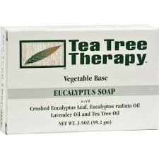 Tea Tree Therapy <b>Eucalyptus Soap</b> Vegetable Base - <b>3.5 Oz</b>   Tea ...