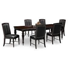gothic dining table armchairs composite